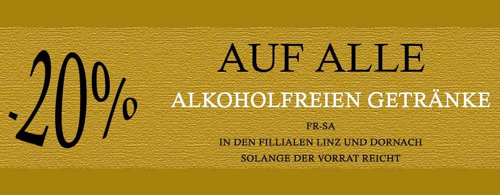 Alkoholfrei aktion